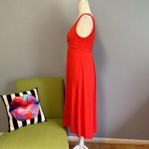 J. Crew Dresses - J Crew Blood Orange Midi Dress C6